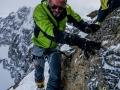 42 Kletterei am Piz Kesch