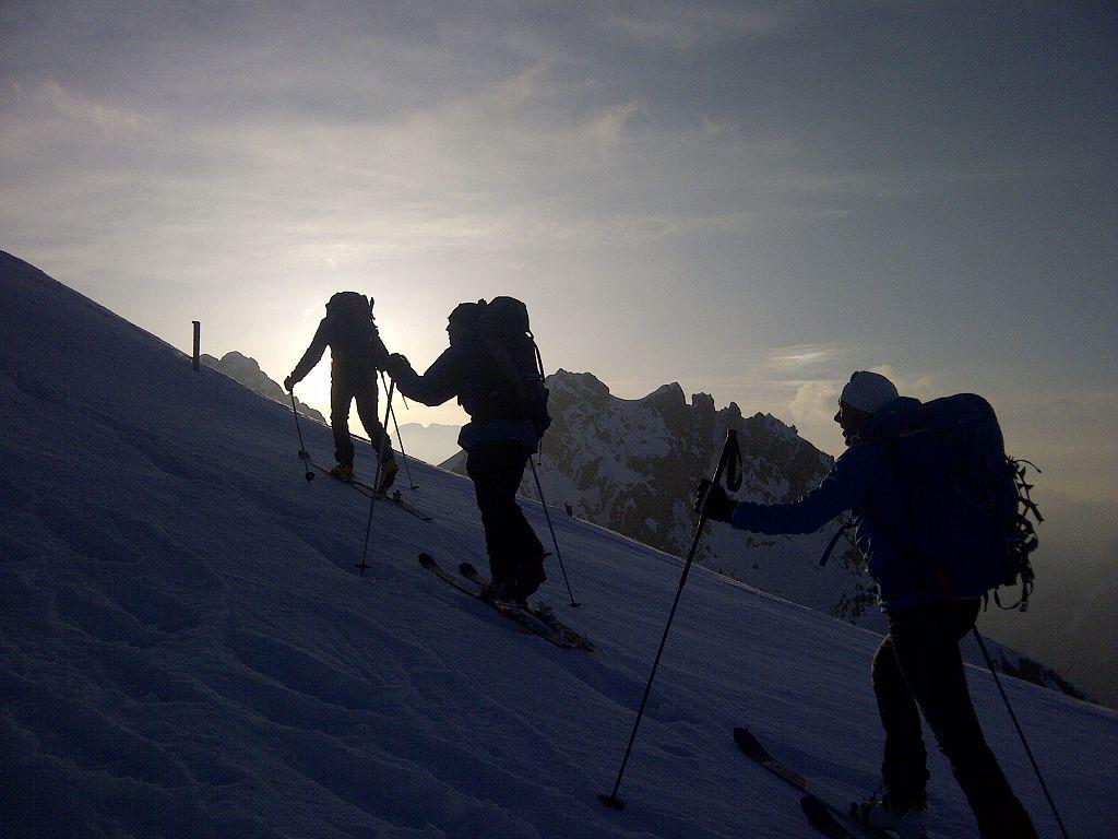 368 Morgendlicher Anstieg zur Forca Rossa
