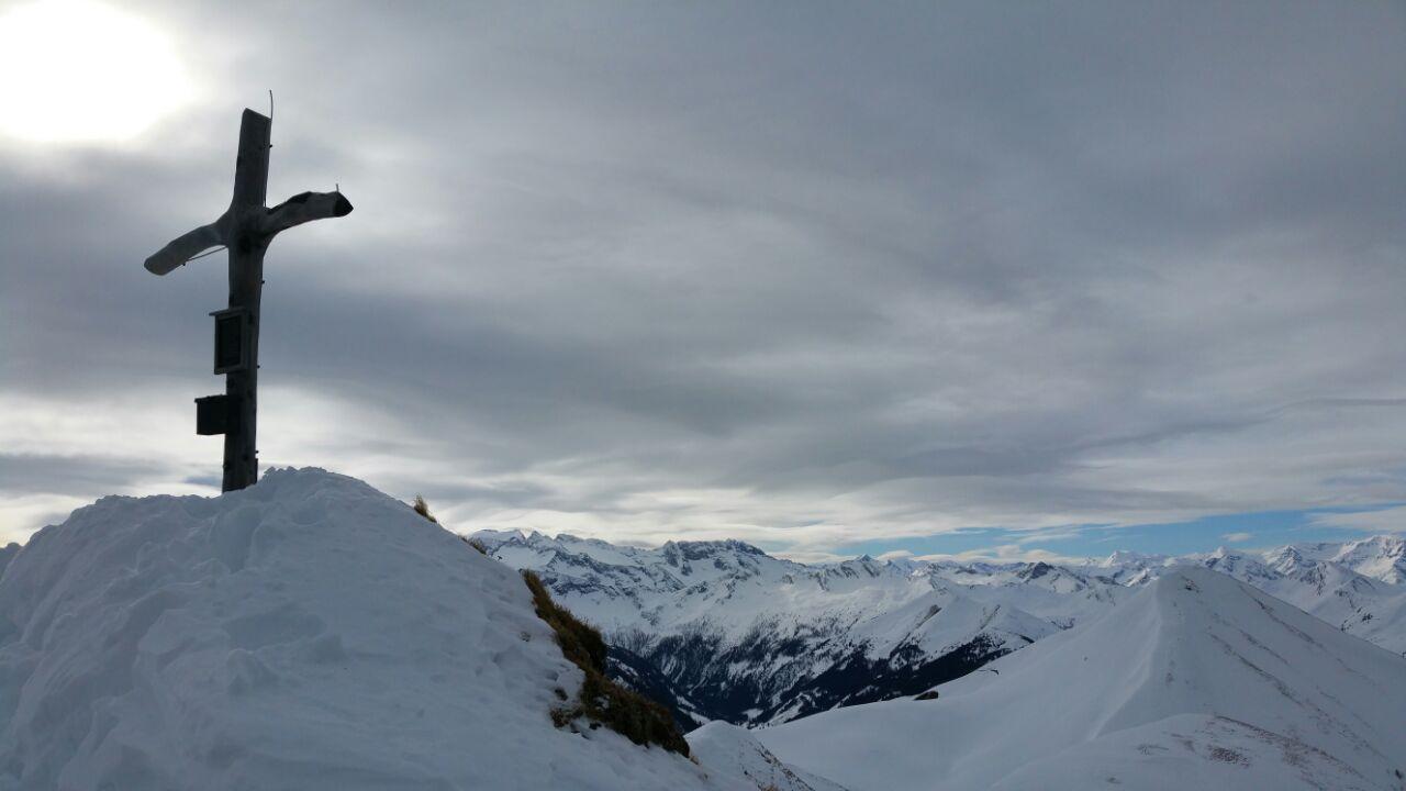 3_Gipfel Filzmooshörndl mit Bergblick