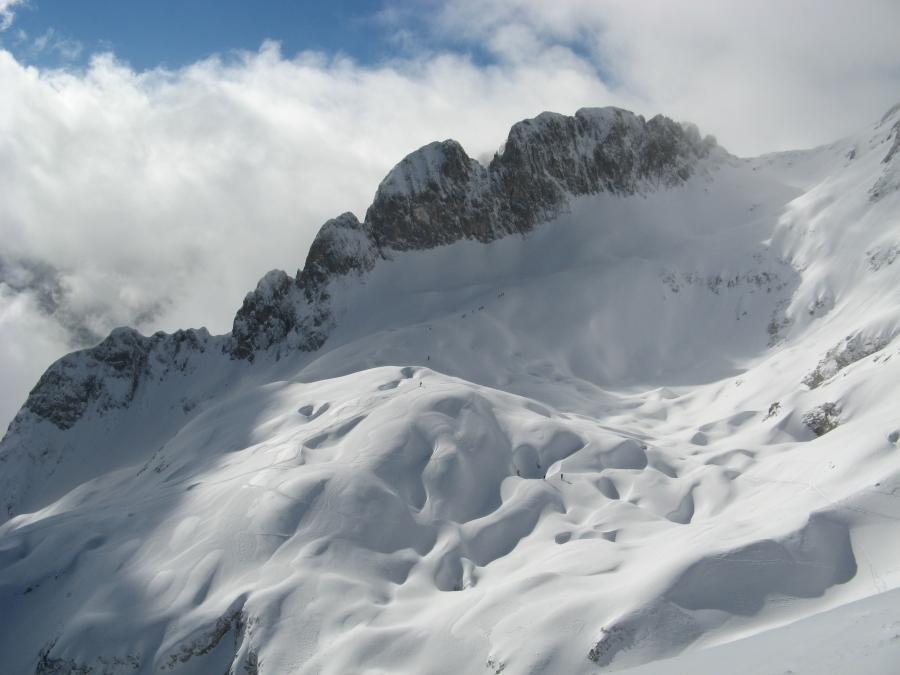 Aufstieg Hochkarfelderkopf