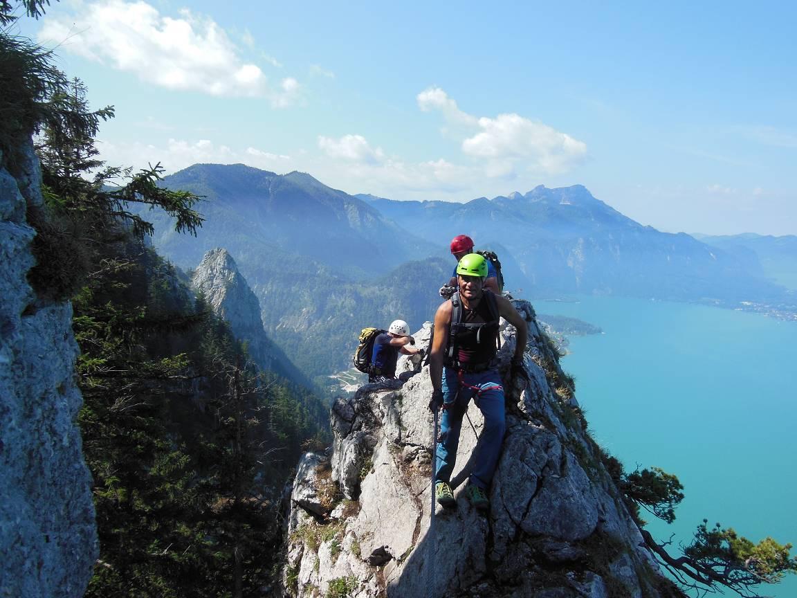 B Attersee Klettersteig 8.13 029