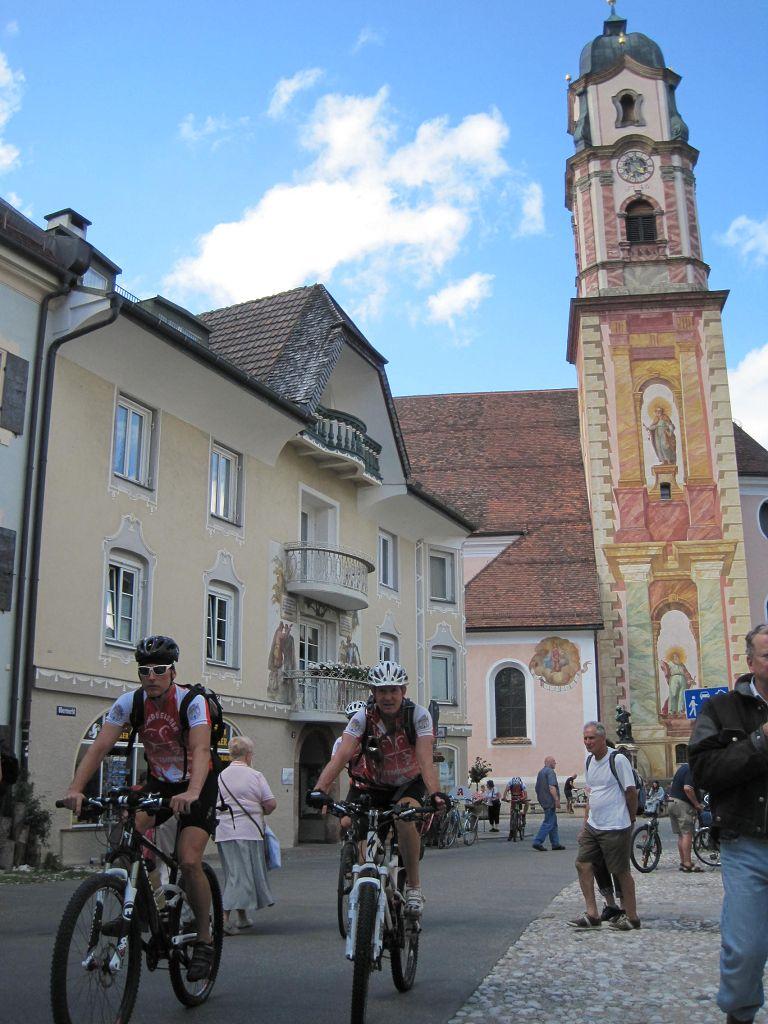 02 Historischer Ortskern von Mittenwald
