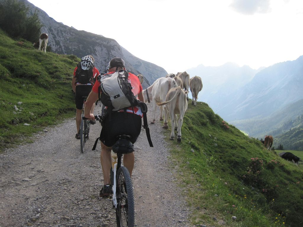 08 Ankunft am Karwendelhaus