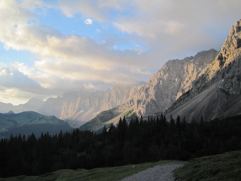 11 Morgenstimmung im Karwendel