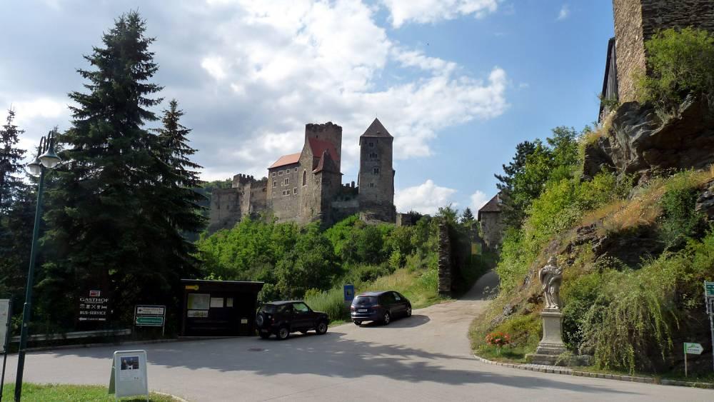 Boehmische Grenztour 017 Ruine Hardegg
