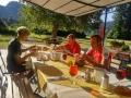 17 Frühstück im Schlossgarten