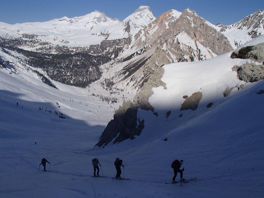 3_21_steiler Aufstieg zur Ciaminscharte_Karin Dol 044