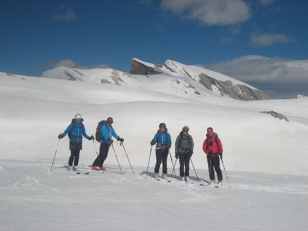 4_61_Im Hintergrund das erste Gipfelziel des Tages, der Seekofel