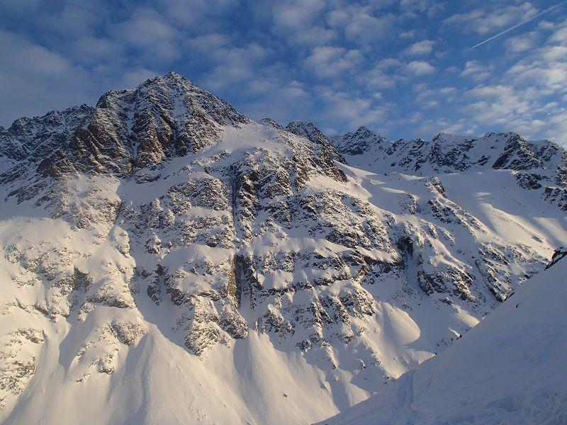 16 Abendstimmung in den Stubaier Alpen