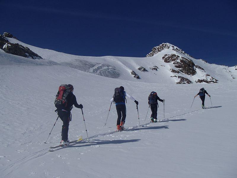 39 Aufstieg zum Breiten Grieskogel am dritten Tag