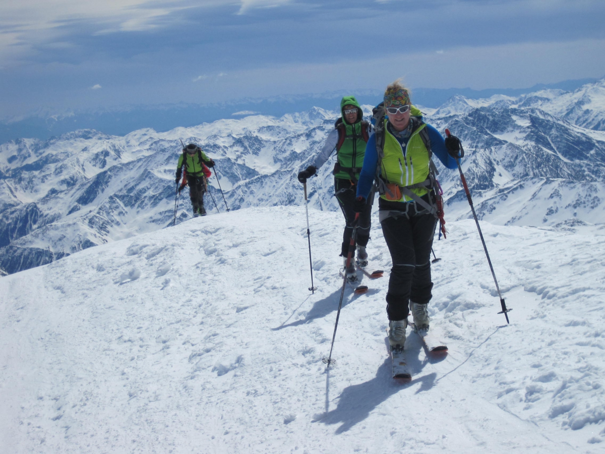 31 Gipfelgrat Weißkugel