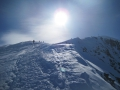 02 Gipfelgrat zum Similaun